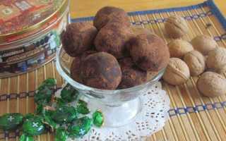 Как приготовить конфеты Трюфели в домашних условиях