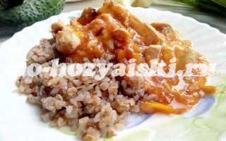 Как сделать вкусную подливу к гречке с курицей
