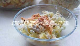 Как приготовить диетическую запеканку из цветной капусты с курицей