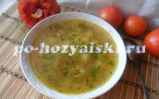 Ароматный грибной суп из лисичек