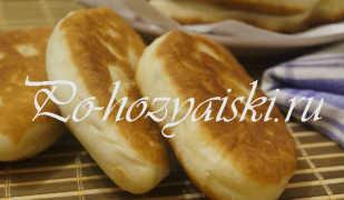 Жареные пирожки с луком, рисом и яйцом — вкусные рецепты