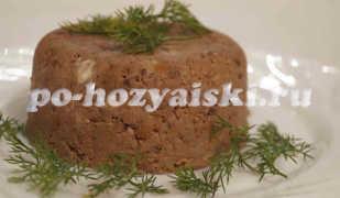 Как приготовить паштет из свиной печени