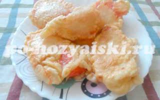 Арбуз в кляре, рецепт необычного десерта