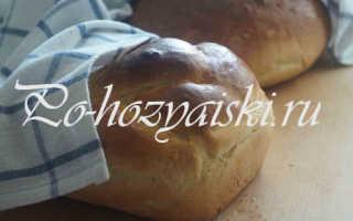 Домашний хлеб на сыворотке в духовке — рецепты с фото