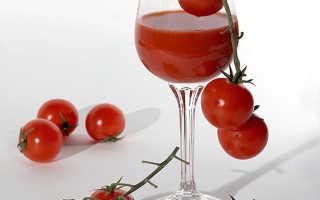 Как правильно пить томатный сок для похудения