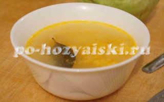 Как приготовить рисовый суп на курином бульоне