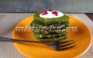 Оладьи из брокколи, сытный диетический завтрак