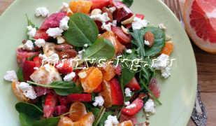 Аппетитный фруктовый салат для похудения