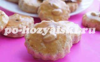 Как приготовить арахисовое печенье