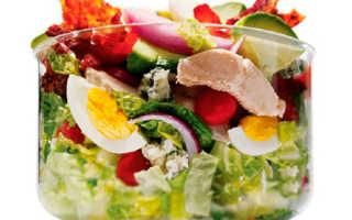 Сбалансированное питание для похудения, меню на пять дней