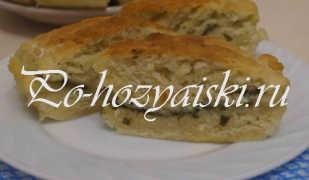 Пирог с щавелем на кефире — вкусные рецепты с фото