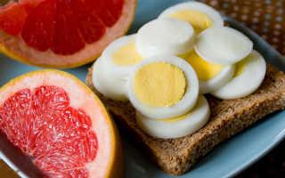 Диета на яйце и грейпфруте