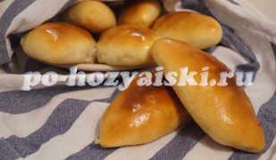Румяные пирожки с тыквой, приготовленные в духовке