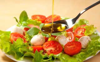 Диетические заправки для салата