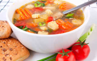 Семидневная диета на супе для толстяков