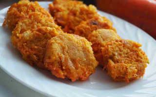 Витаминные драники с морковью