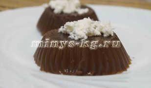 Кофейное желе, рецепт низкокалорийного десерта
