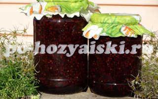 Как заготовить густое варенье из малины на зиму