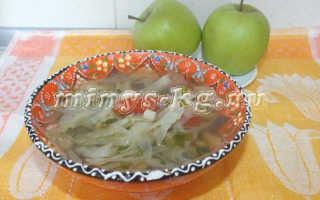Капустный суп для похудения, который сжигает жир, рецепт с фото