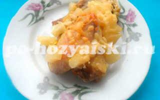 Курица с ананасами в духовке, рецепт для праздничного стола с пошаговыми фото