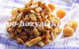Как приготовить чак-чак с медом и апельсином