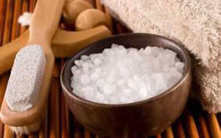 Морскую соль можно использовать для похудения