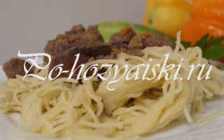 Куриная печень с макаронами — пошаговые рецепты с фото