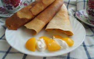 Гороховые блины: прекрасное диетическое блюдо