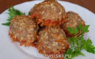 Блюдо на скорую руку: мясные ежики с рисом