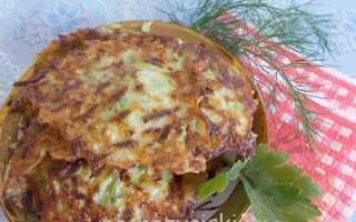 Как приготовить оладьи из кабачков с укропом