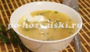 Как приготовить гороховый суп на курином бульоне