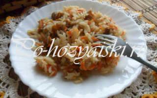 Плов с грибами — вкусный рецепт с фото пошагово