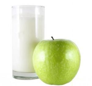 яблочно кефирный разгрузочный день