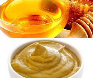 горчица с медом для похудения