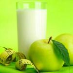 диета на кефире с яблоками