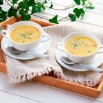 диетический сырный суп