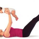 Как убрать живот после родов в домашних условиях
