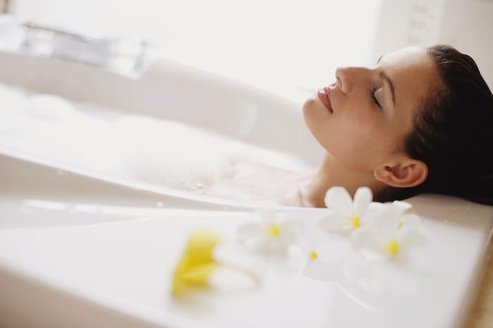 ванна с солью и содой для похудения