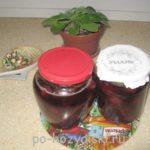 клубничное варенье с базиликом
