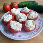 Диета Протасова: помидоры фаршированные яйцом