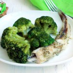 рыба с овощами на пару