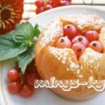 Запеченные яблоки с творогом и медом, рецепт с фото