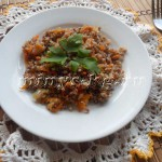 Гречка с луком и морковью — вкусное низкокалорийное блюдо