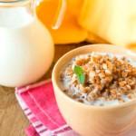 Гречка с кефиром по утрам для похудения, как приготовить и как употреблять
