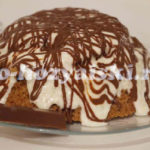 шоколадный торт в микроволновке