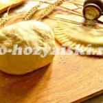 тесто для чебуреков как приготовить
