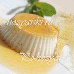 рецепт флана с карамелью