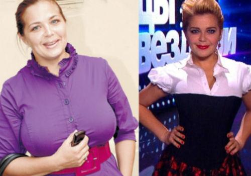 пегова похудела фото до и после
