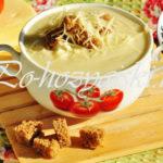 крем суп из цветной капусты со сливками